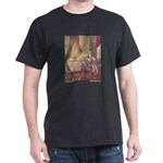 Dulac's Sleeping Beauty Black T-Shirt