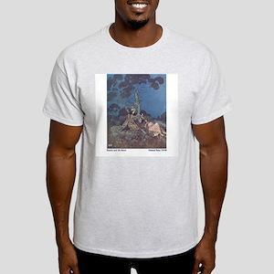 Dulac's Beauty & the Beast Ash Grey T-Shirt