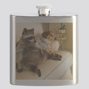 Fat Raccoon Flask