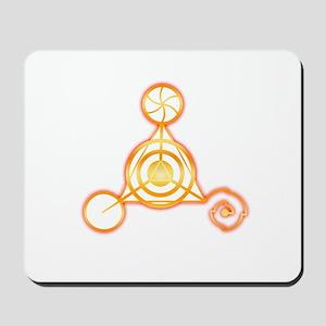 Tetrahedron Crop-Circle Mousepad