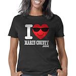 I LOVE MARIN COUNTY Women's Classic T-Shirt