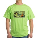 Price's Dancing Shoes Green T-Shirt