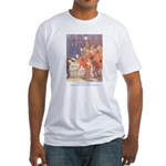Tarrant's Snow White  Fitted T-Shirt