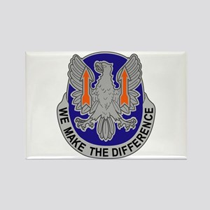 DUI - 11th Aviation Command Rectangle Magnet