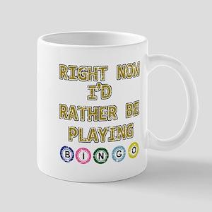 I'd rather be playing Bingo Mug