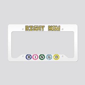 I'd rather be playing Bingo License Plate Holder