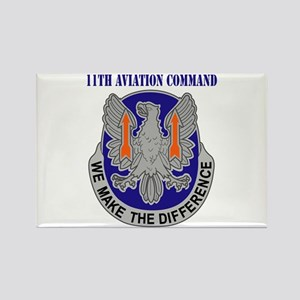 DUI - 11th Aviation Command with Text Rectangle Ma