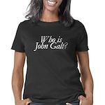 whoisjohngalt.10x10.b Women's Classic T-Shirt