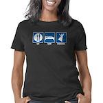 eat_sleep_bhangra_transpar Women's Classic T-Shirt