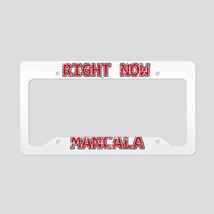 I'd rather be playing Mancala License Plate Holder