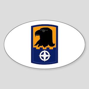 SSI - 244th Aviation Brigade Sticker (Oval)