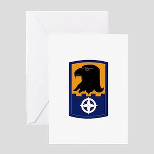 SSI - 244th Aviation Brigade Greeting Card