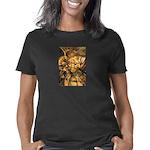 African Spirit in Ochre Women's Classic T-Shirt