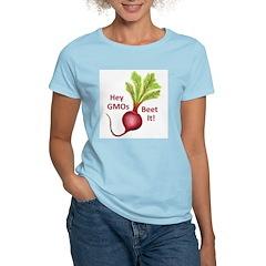 Hey GMOs Beet It Women's Light T-Shirt