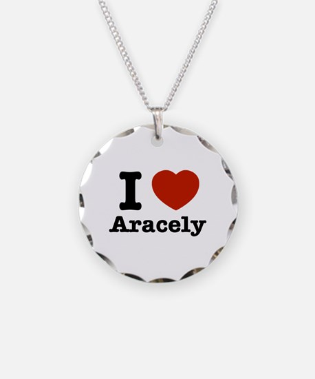 I love Aracely Necklace