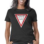 Give Way Dark T-Shirt Women's Classic T-Shirt