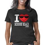 I Love Mission Beach Women's Classic T-Shirt