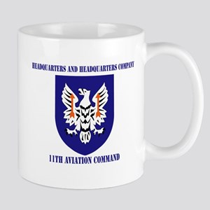 SSI - HHC-11th Aviation Command with text Mug