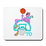 SABRA DOG(Basketball)Jewish Mousepad