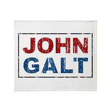 John Galt Throw Blanket