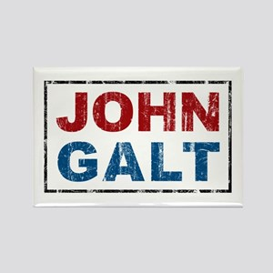 John Galt Rectangle Magnet