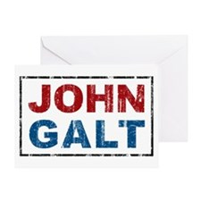 John Galt Greeting Card