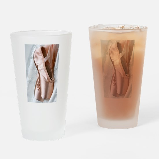 Pointe Shoes Drinking Glass