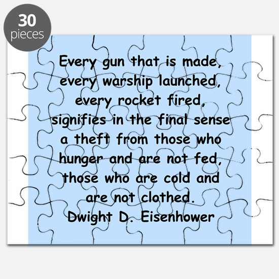 dwight eisenhower Puzzle