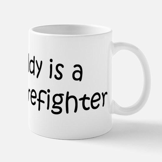 Daddy: Forest Firefighter Mug