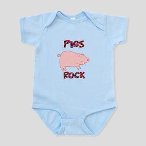Pigs Rock Infant Bodysuit