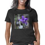Blue-Eyed Grass Flower Women's Classic T-Shirt