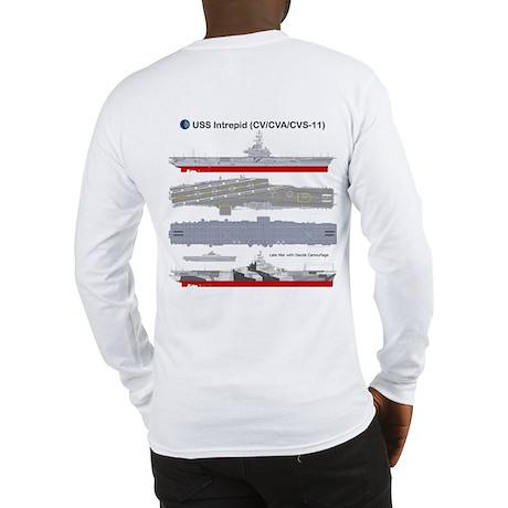 USS Intrepid CV-11 CVA-11 Long Sleeve T-Shirt