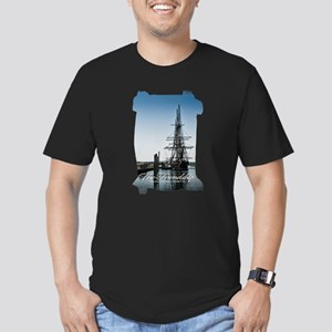 The Friendship Men's Fitted T-Shirt (dark)