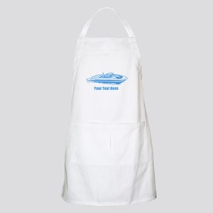 Motorboat. Add Your Text. Apron