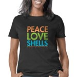 Peace Love Shells Women's Classic T-Shirt