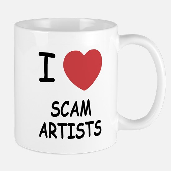 I heart scam artists Mug