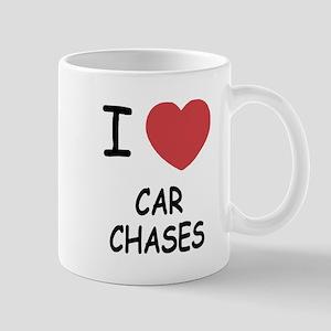 I heart car chases Mug