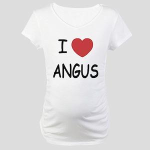 I heart angus Maternity T-Shirt