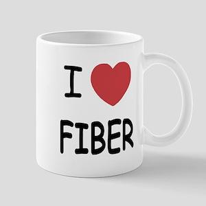I heart fiber Mug