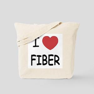 I heart fiber Tote Bag