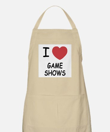 I heart game shows Apron
