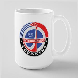 Interkosmos Large Mug