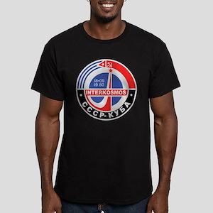 Interkosmos Men's Fitted T-Shirt (dark)