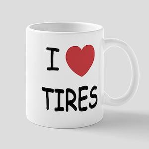 I heart tires Mug