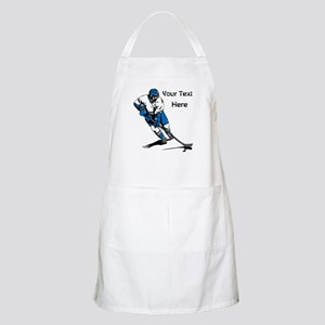 Icy Hockey. With Your Text. Apron