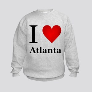 I Love Atlanta Kids Sweatshirt