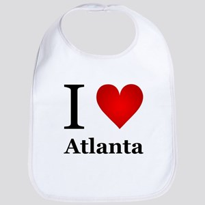 I Love Atlanta Bib