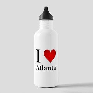 I Love Atlanta Stainless Water Bottle 1.0L