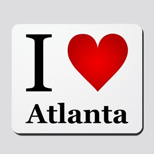 I Love Atlanta Mousepad