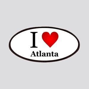 I Love Atlanta Patches